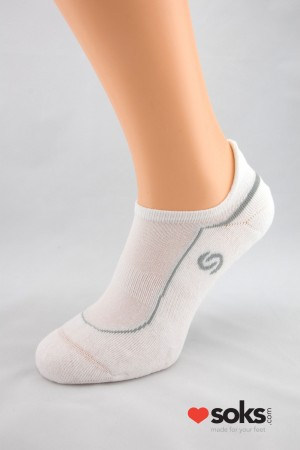 Mini Sport Deodorant white socks